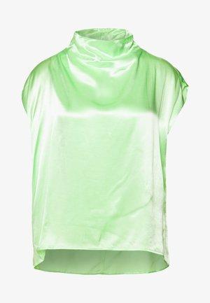 RAYNE SHORT SLEEVED BLOUSE - Blůza - bright green