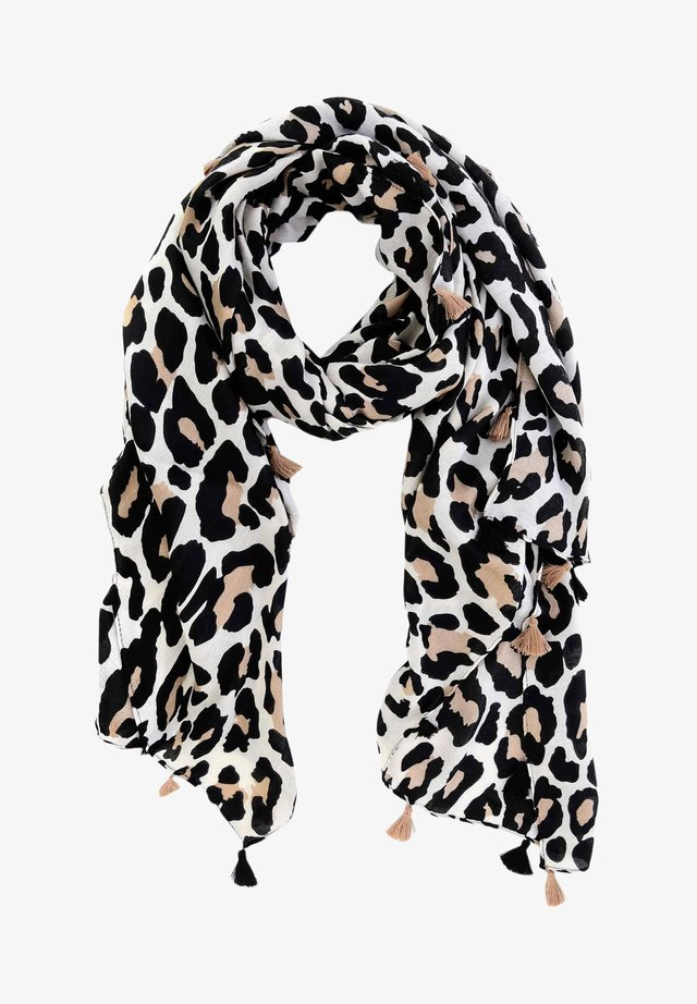NENNO - Scarf - brown