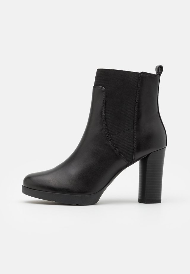ANYLLA - High heeled ankle boots - black