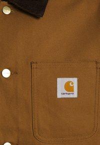 Carhartt WIP - MICHIGAN COAT DEARBORN - Kevyt takki - hamilton brown/tobacco rigid - 9