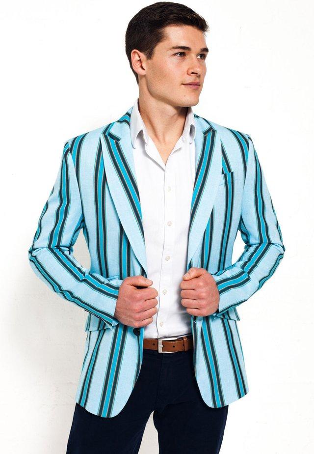 LUO - Blazer jacket - turquoise