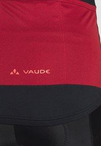 Vaude - ADVANCED FZ - T-Shirt print - carmine - 4