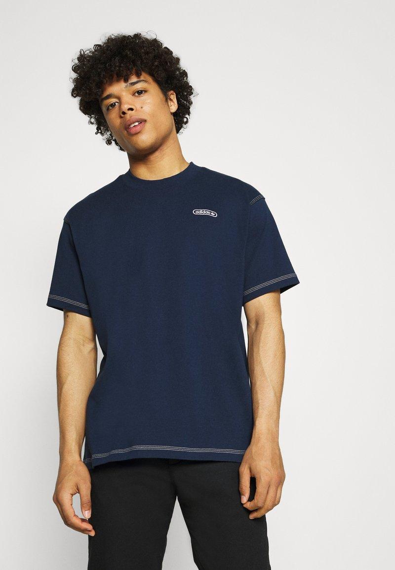 adidas Originals - TEE UNISEX - Basic T-shirt - collegiate navy