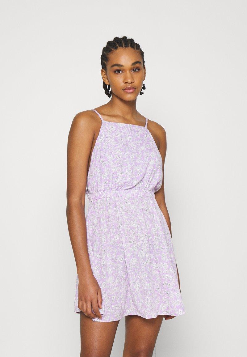 Cotton On - FRENCHIE OPEN BACK MINI - Day dress - sari powder lilac