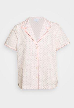 POPLIN - Pyjama top - coral