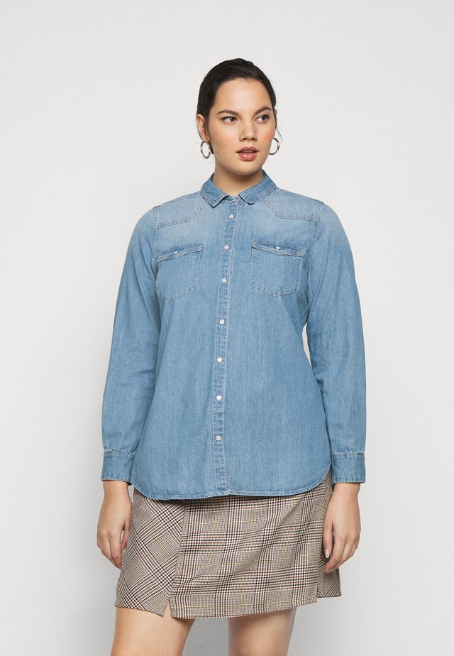 JCLARA - Blouse - blue denim