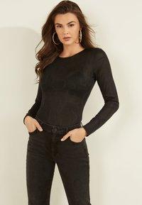 Guess - Long sleeved top - schwarz - 0