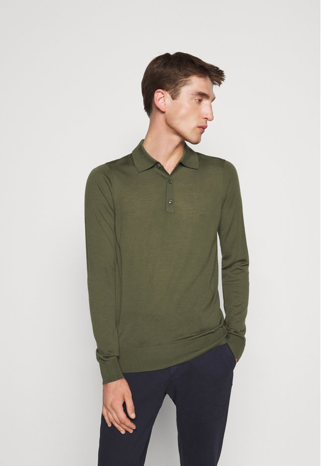 LONG SLEEVE  - Jumper - chard green