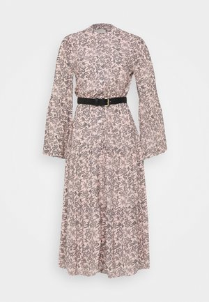 LEAFY MEDL MIDI DRESS - Skjortklänning - powder blush