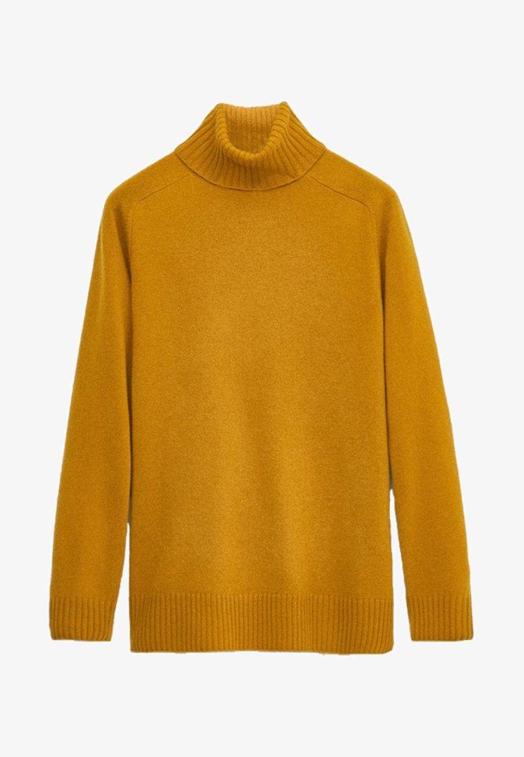 Massimo Dutti - Jumper - mustard yellow