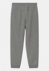 Nike Sportswear - REGRIND UNISEX - Tracksuit bottoms - black/dark smoke grey - 1