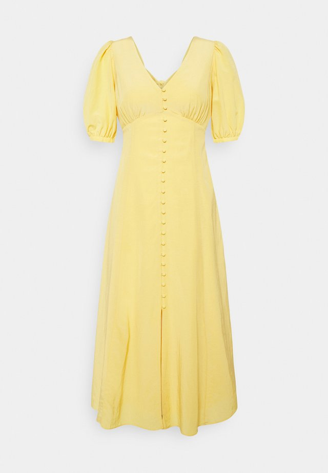 BELLE PETITE PUFF SLEEVE MIDI DRESS - Vestito elegante - soft mango