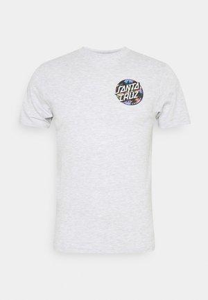 UNISEX DOT SPLATTER  - Print T-shirt - athletic heather