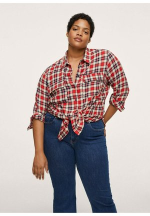 ROJO - Button-down blouse - rouge