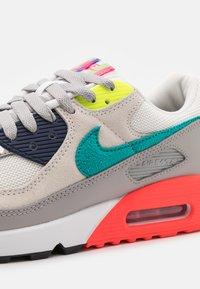 Nike Sportswear - AIR MAX 90 SE M2Z - Sneakers - pearl grey/sport turquoise/summit white/black - 7