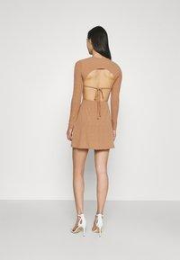Missguided - SKATER DRESS - Day dress - camel - 2