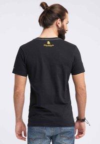 Schmuddelwedda - Print T-shirt - black - 2