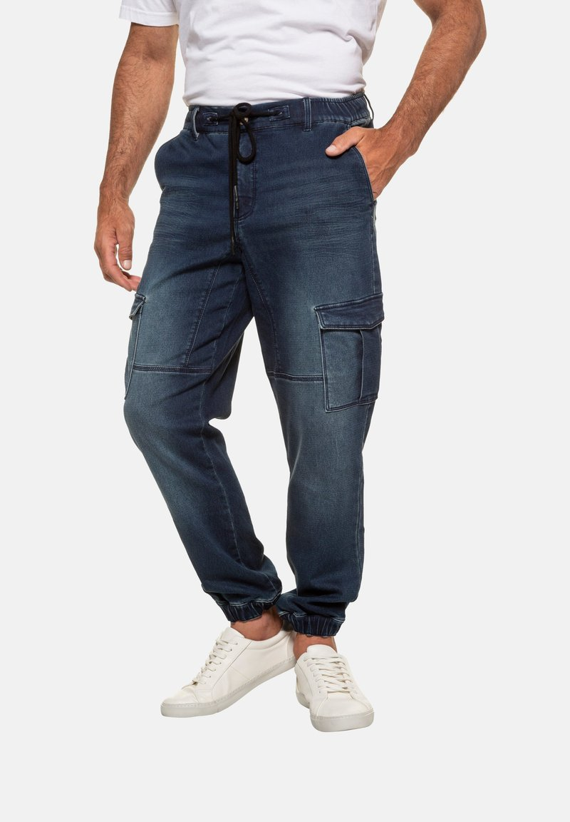 JP1880 - FLEXNAMIC® - Jeans Tapered Fit - dark blue