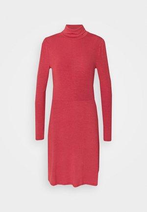 LADIES DRESS - Jerseykjole - burnt orange