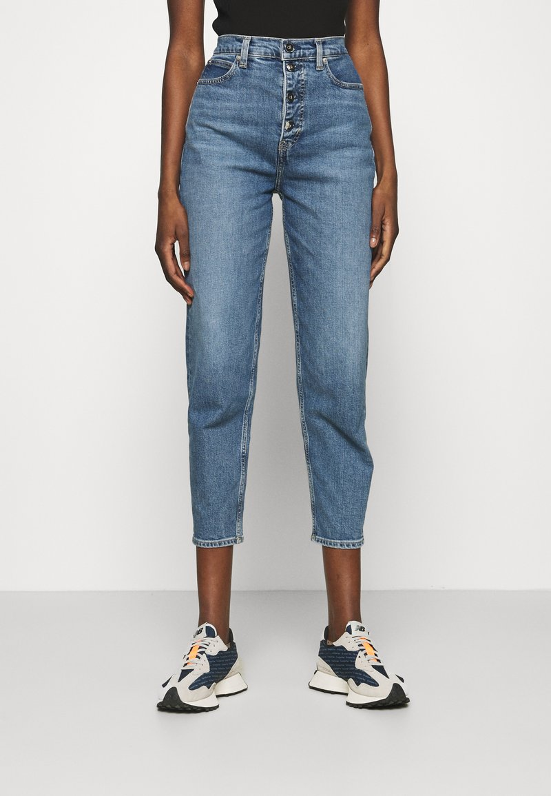 Calvin Klein - MOM - Relaxed fit jeans - mid blue