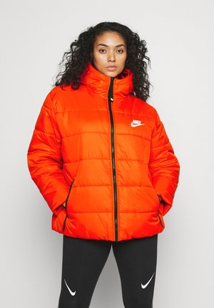 CLASSIC - Winter jacket - chile red/black