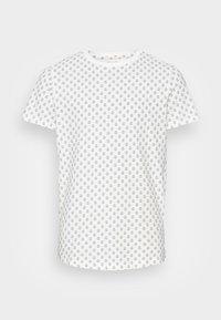 JJROSS TEE CREW NECK - Print T-shirt - white