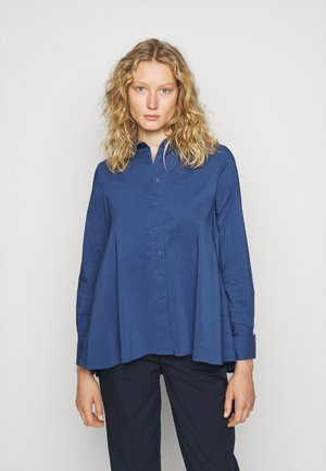 CLEMANDE URBAN - Button-down blouse - smokey blue