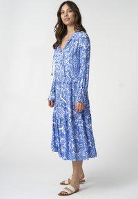 Dea Kudibal - VIOLA - Day dress - paisley blue - 1