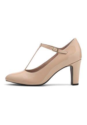T-STEG - Classic heels - beige