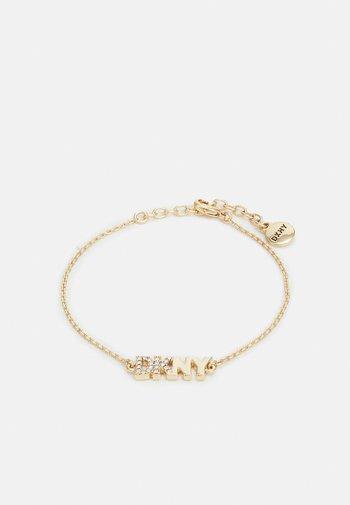 PAVE LOGO FLEX - Bracelet - gold-coloured