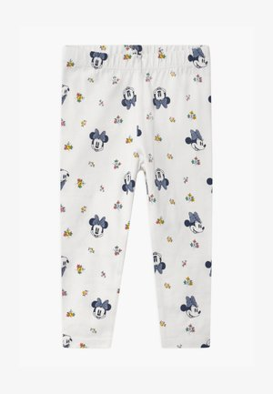 TODDLER GIRL MINNIE MOUSE  - Legginsy - off-white