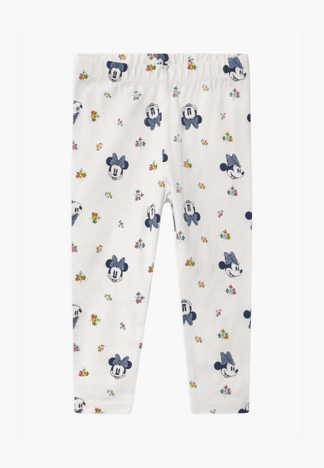TODDLER GIRL MINNIE MOUSE  - Leggings - off-white