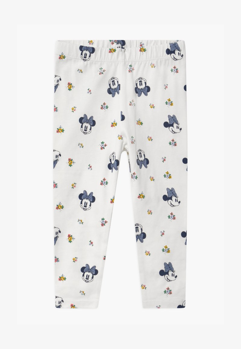 GAP - TODDLER GIRL MINNIE MOUSE  - Legginsy - off-white
