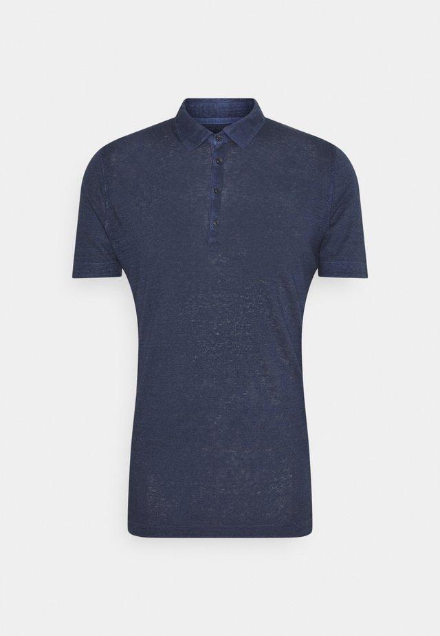 Polo shirt - blue navy