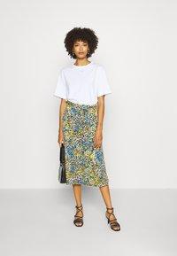 comma - A-line skirt - multi-coloured - 1