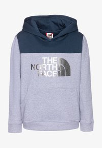 The North Face - GIRLS DREW PEAK HOODIE - Bluza z kapturem - blue wing teal - 0