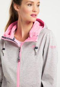 Schmuddelwedda - Light jacket - hellgrau mel pink - 3