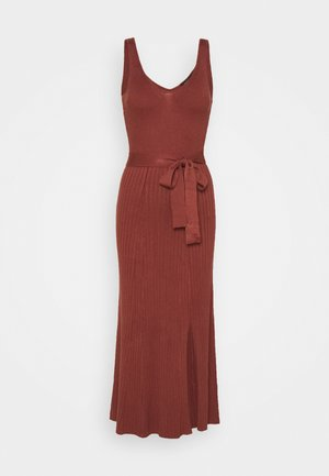 COLETTE - Jumper dress - rust