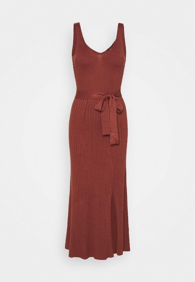 COLETTE - Jumper dress - rust