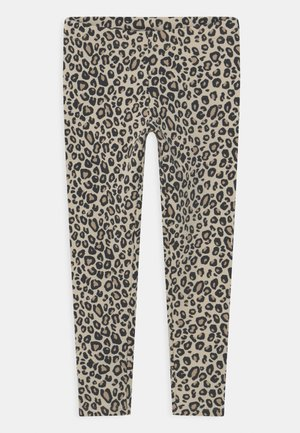 LEO BRUSHED - Leggings - Trousers - light beige