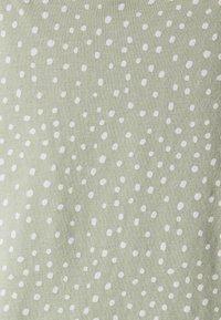 Lindex - NIGHT DRESS SLIP JOLO - Camicia da notte - dusty green - 2