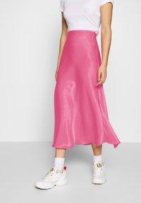 Weekday - IDA SKIRT - Jupe trapèze - bright pink - 0