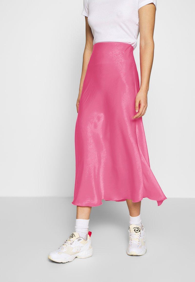 Weekday - IDA SKIRT - Jupe trapèze - bright pink