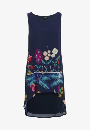 CARNEGIE - Robe d'été - azul tinta