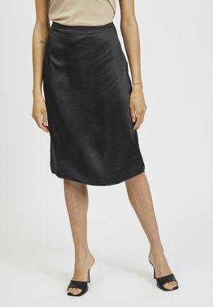 NOOS - A-snit nederdel/ A-formede nederdele - black