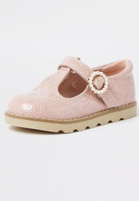 River Island - MONOGRAM - Touch-strap shoes - pink - 1