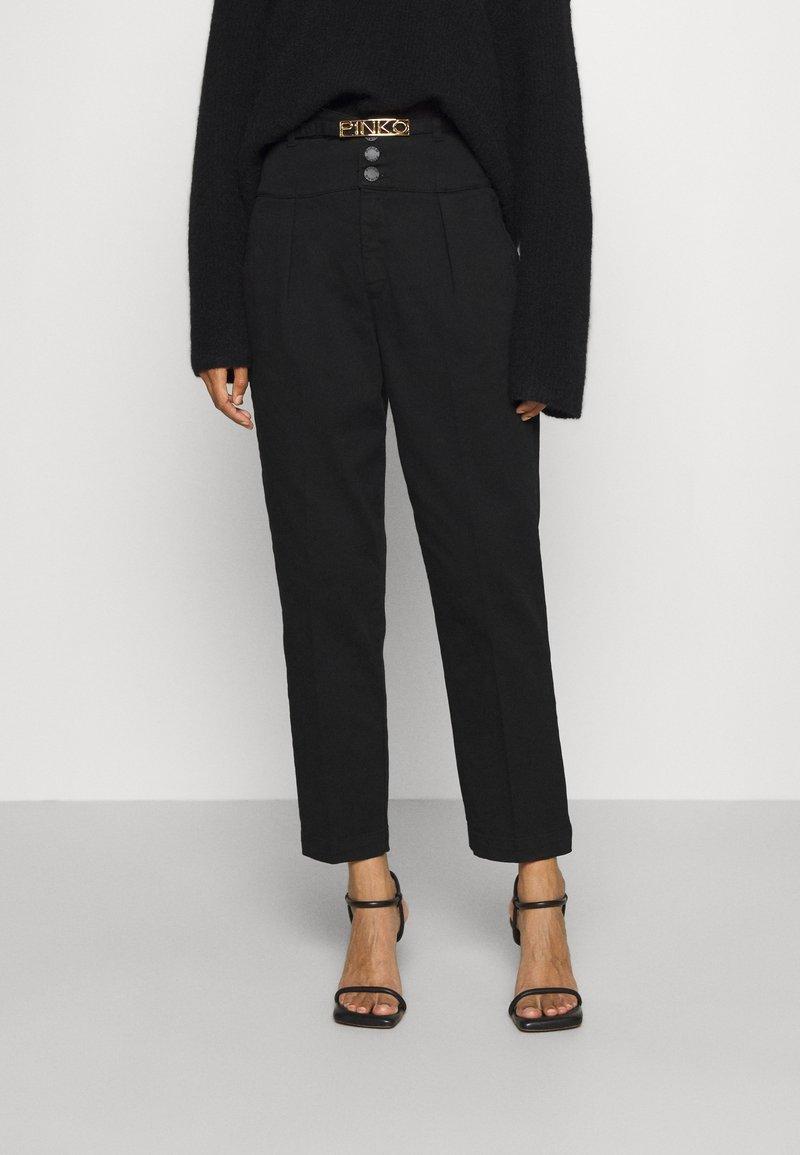 Pinko - ARIEL  - Kalhoty - black