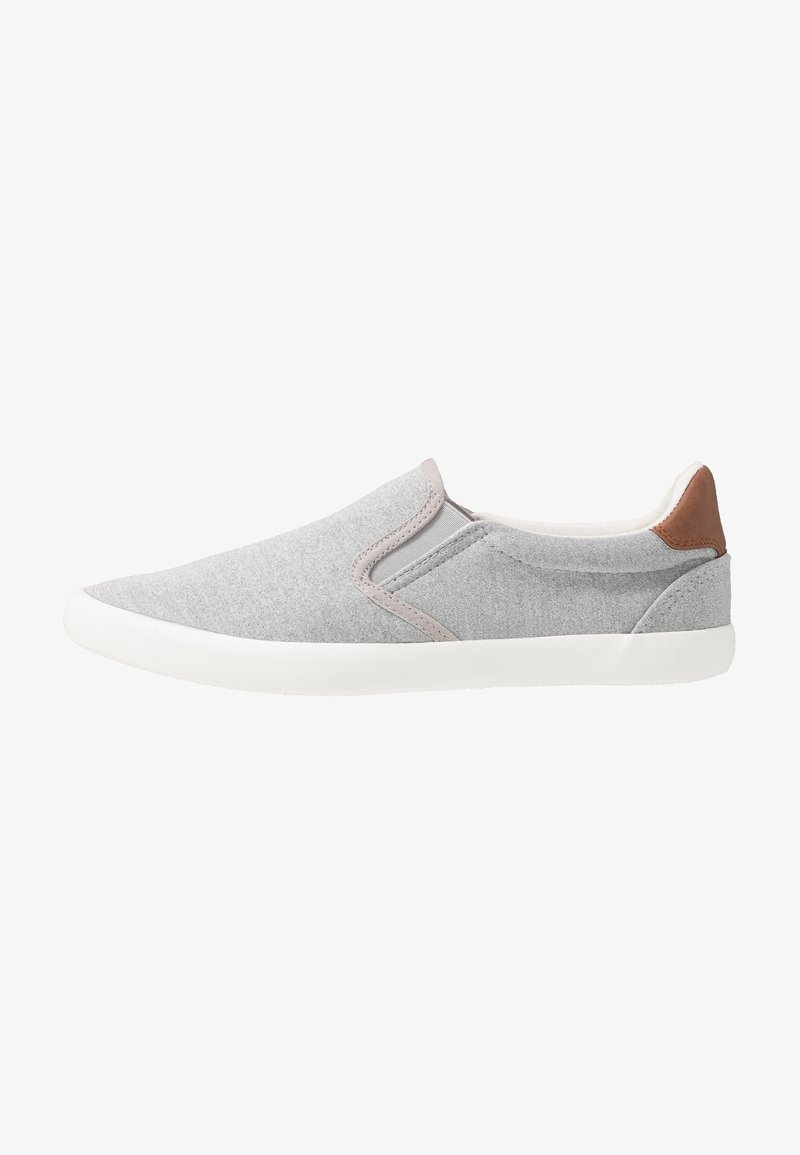 Pier One - UNISEX - Slip-ons - grey