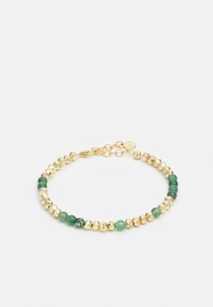 PHOEBE BRACE - Bransoletka - gold-coloured/green