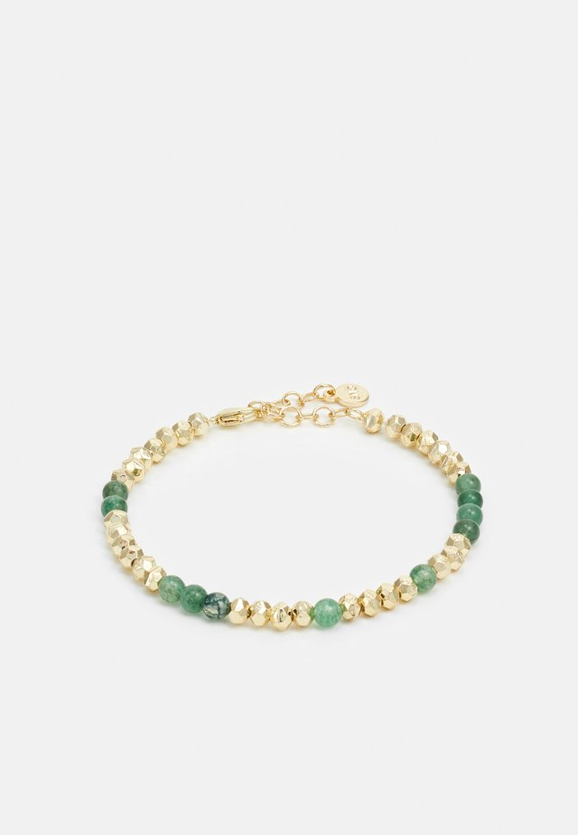 PHOEBE BRACE - Bracelet - gold-coloured/green